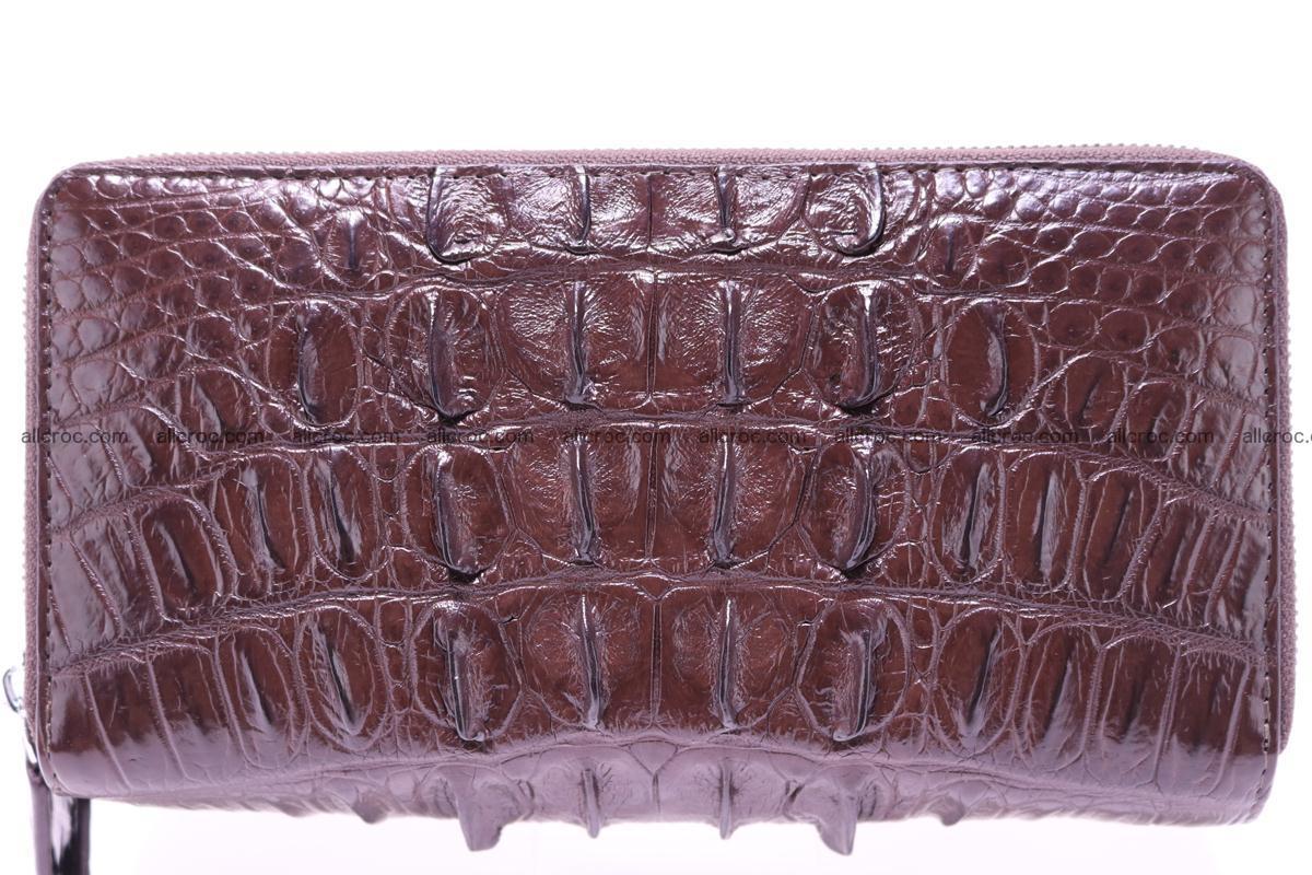 Crocodile wallet with 2zip 302 Foto 0