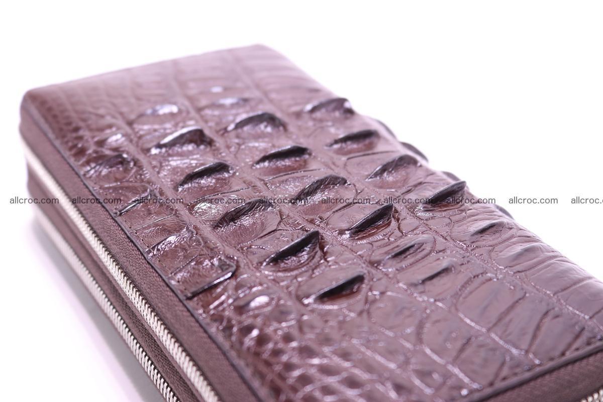 Crocodile wallet with 2zip 302 Foto 5
