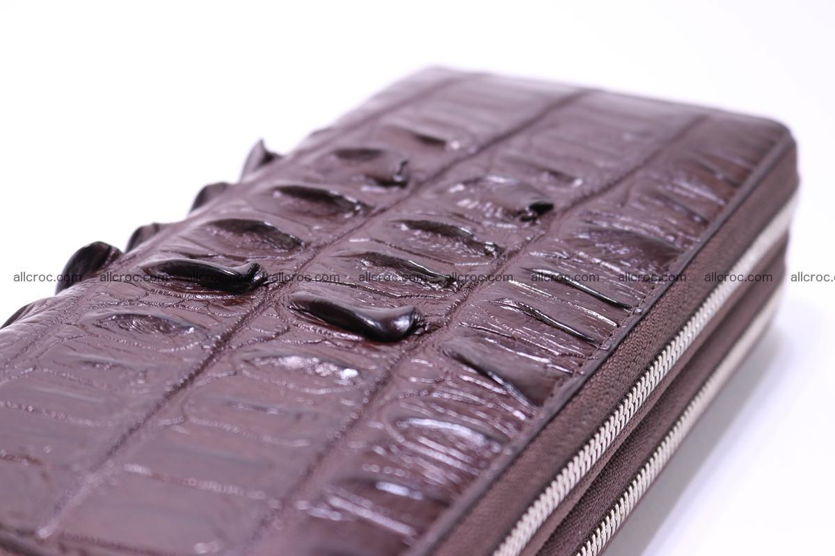 Crocodile wallet with 2zip 302 Foto 7