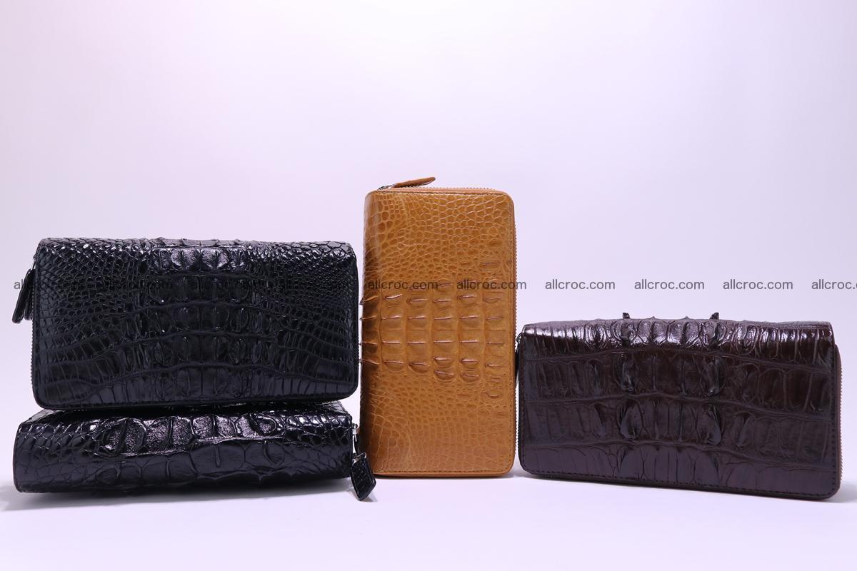 Crocodile wallet with 2zip 302 Foto 12