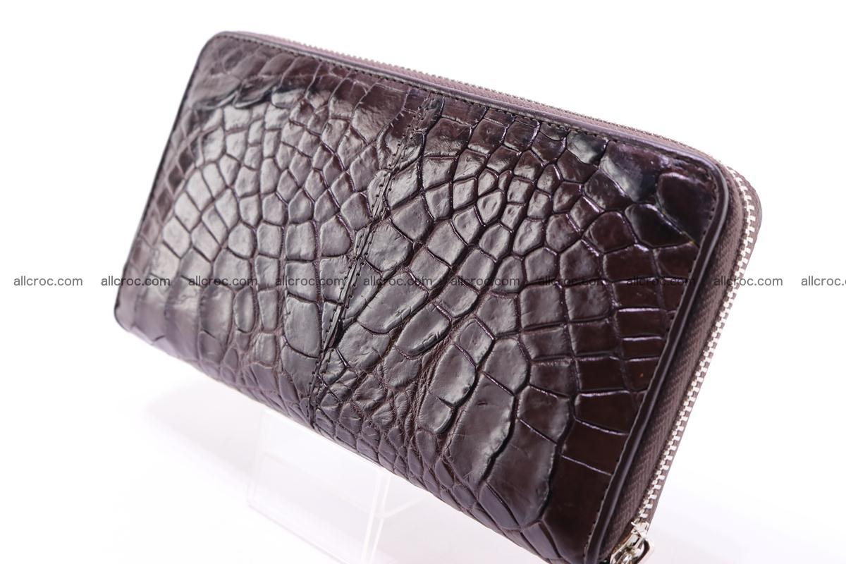 Crocodile wallet 1zip 330 Foto 3