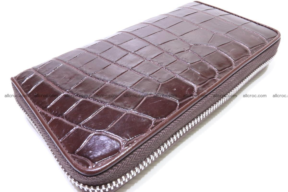 Crocodile wallet 1zip 333 Foto 3