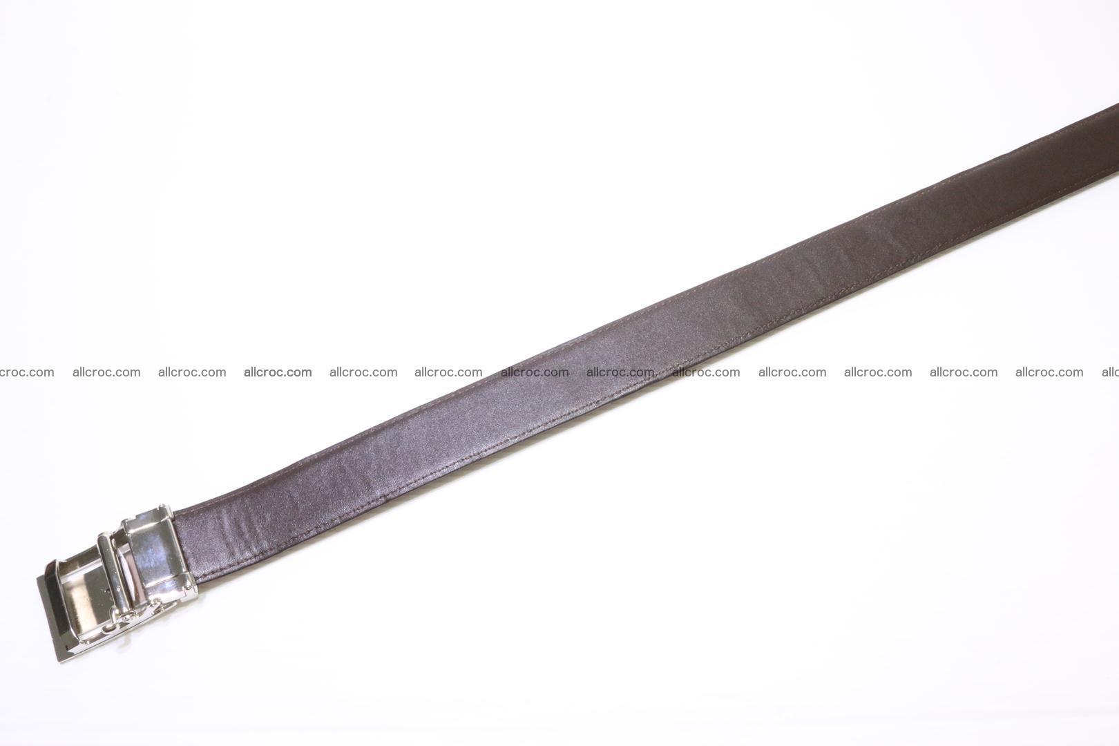Genuine alligator leather Hornback belt 020 Foto 3