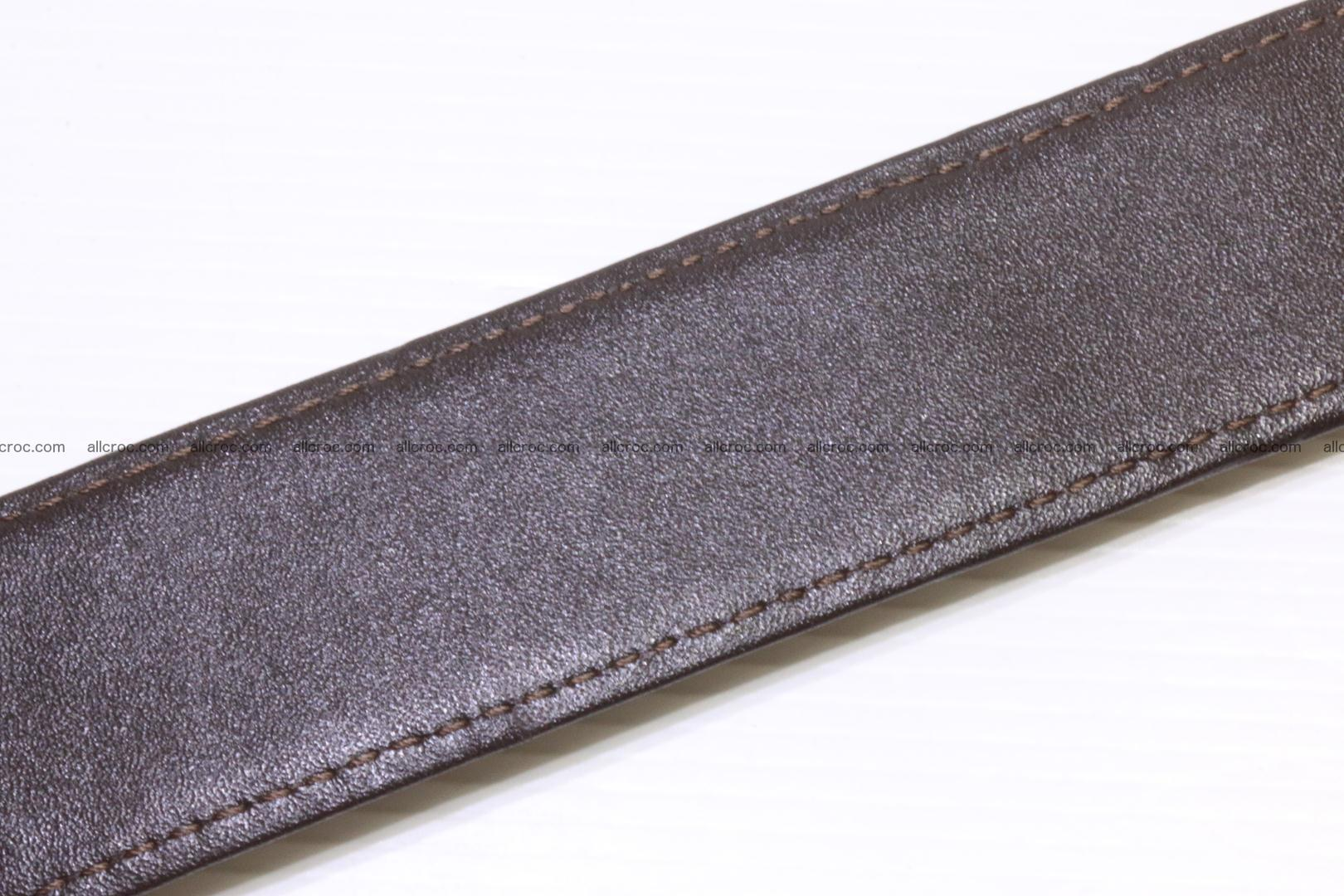 Genuine alligator leather Hornback belt 020 Foto 7