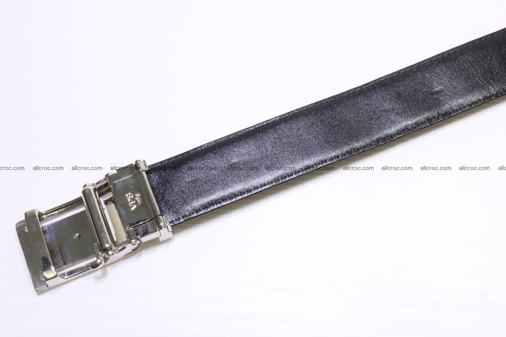 Genuine alligator leather Hornback belt for overweight 024 Foto 9