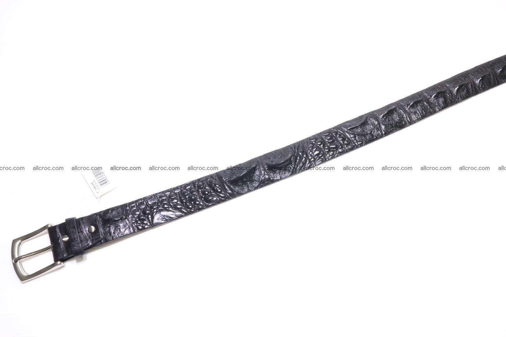Genuine alligator leather Hornback belt 015 Foto 1