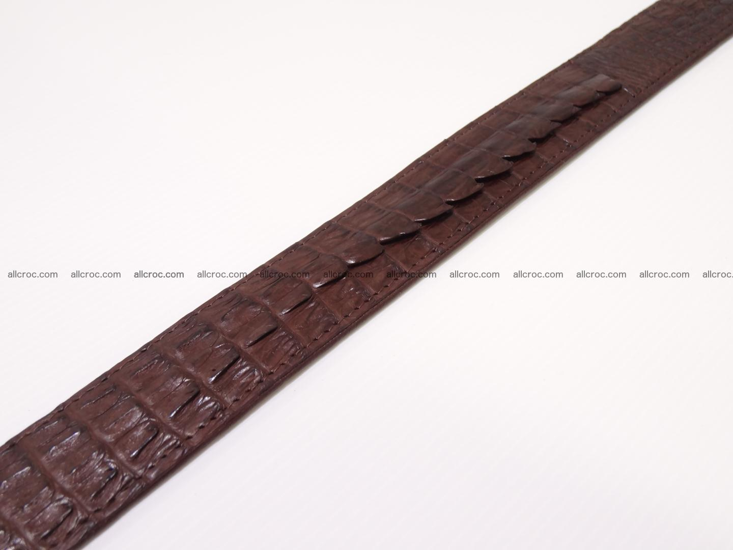 Genuine crocodile belt with real crocodile head 027 Foto 7
