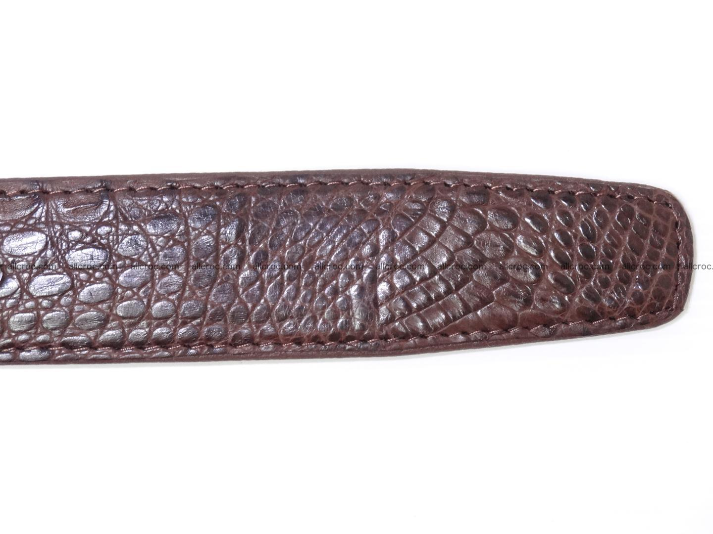 Genuine crocodile belt with real crocodile head 027 Foto 10