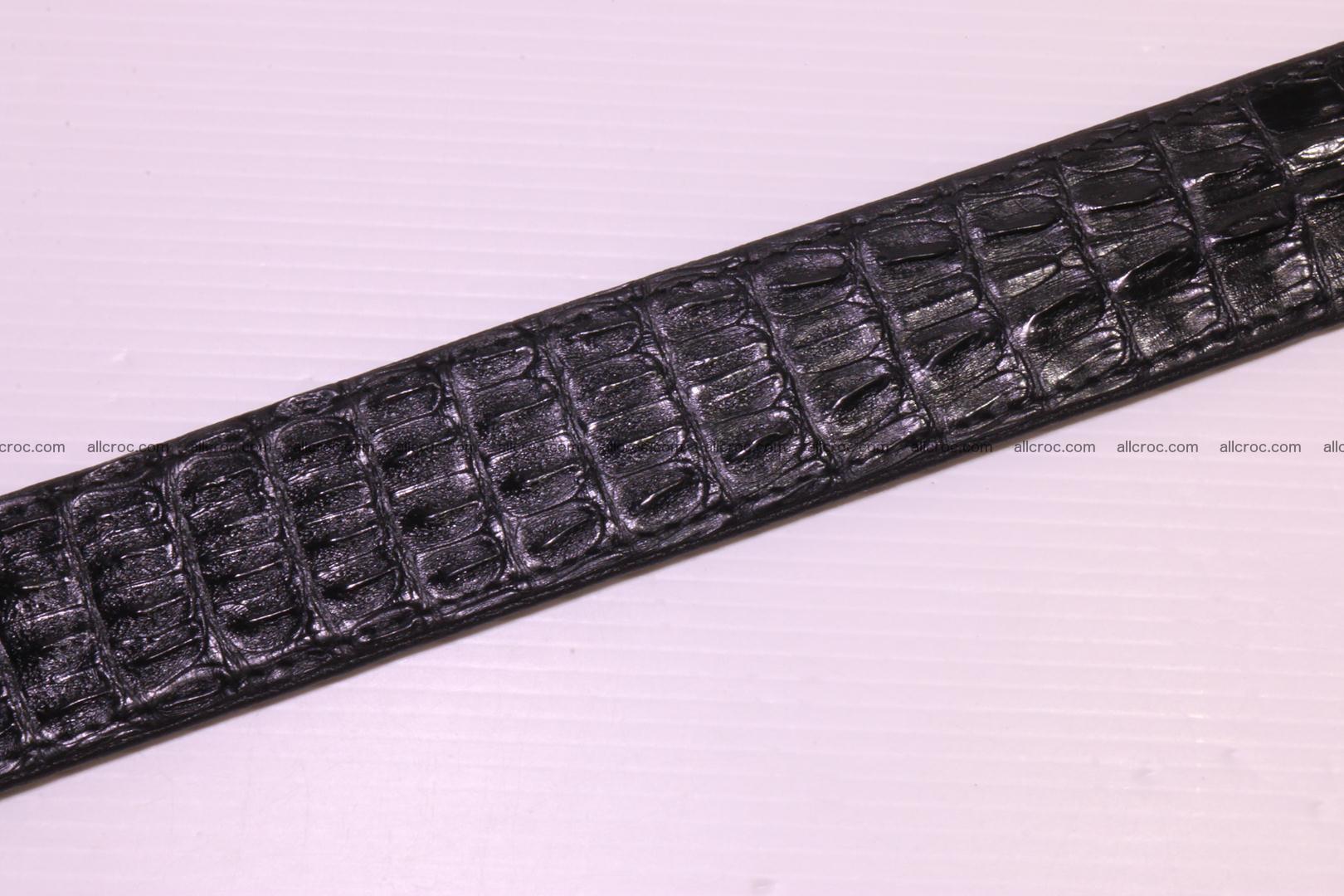 Genuine crocodile belt with real crocodile head 028 Foto 13