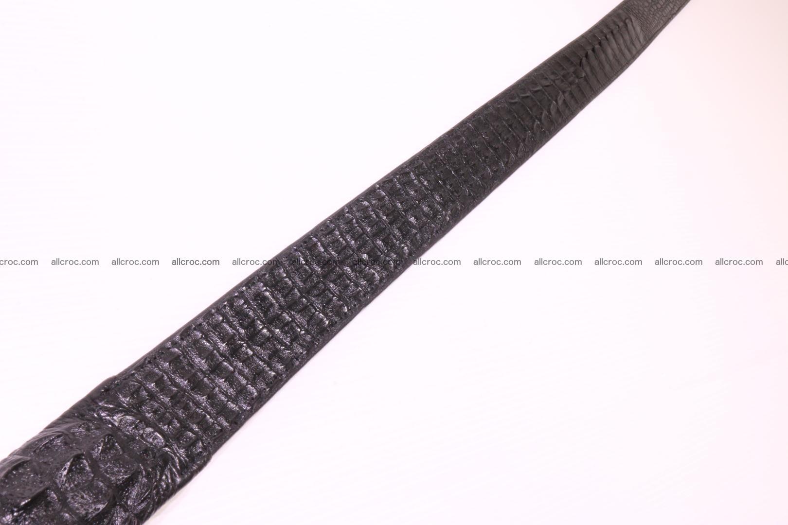 Genuine crocodile belt with real crocodile head 028 Foto 10