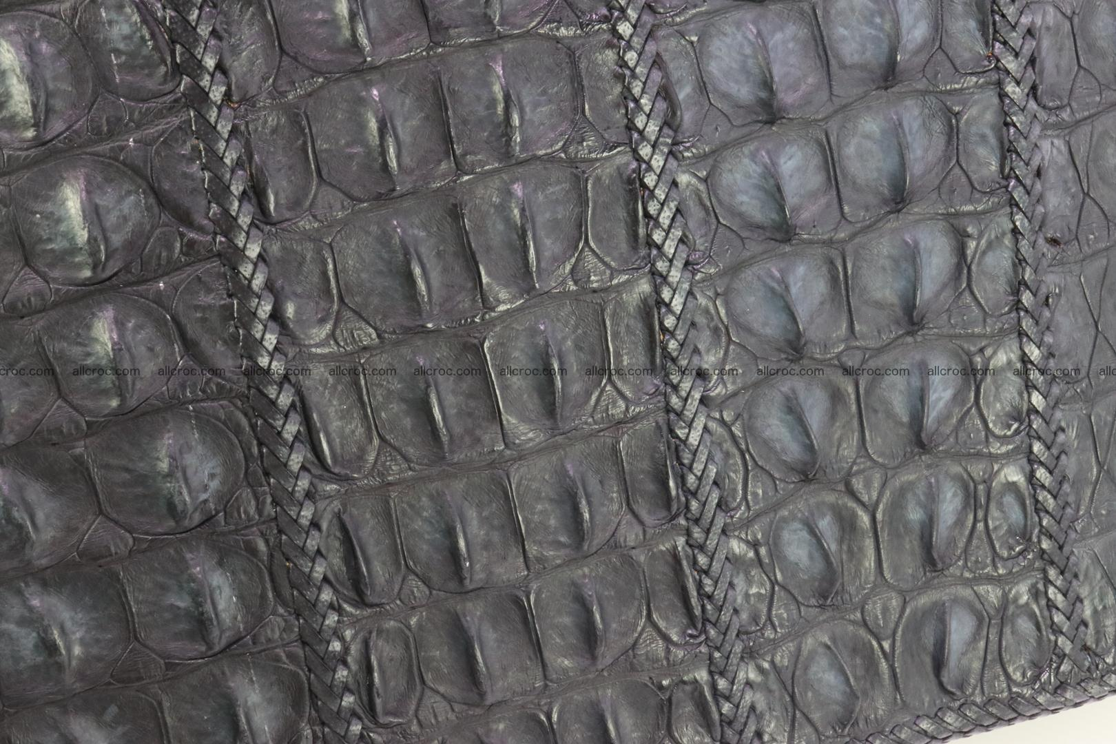 Hand braided crocodile skin briefcase 150 Foto 17