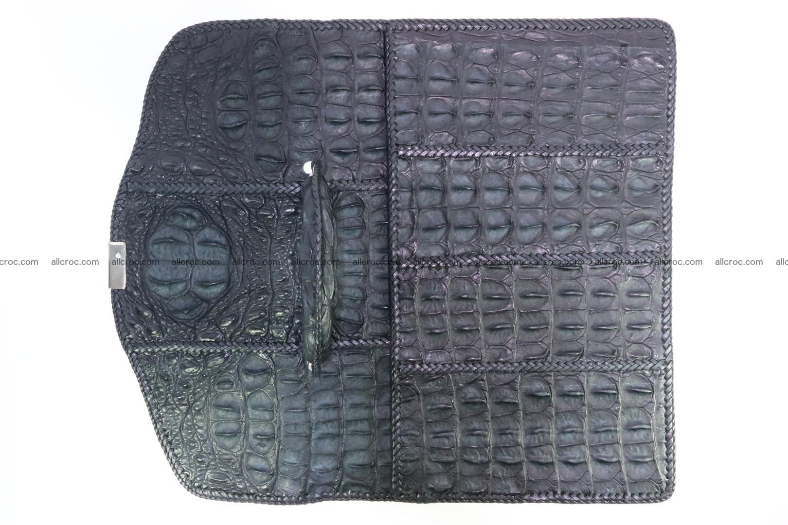 Hand braided crocodile skin briefcase 150 Foto 13
