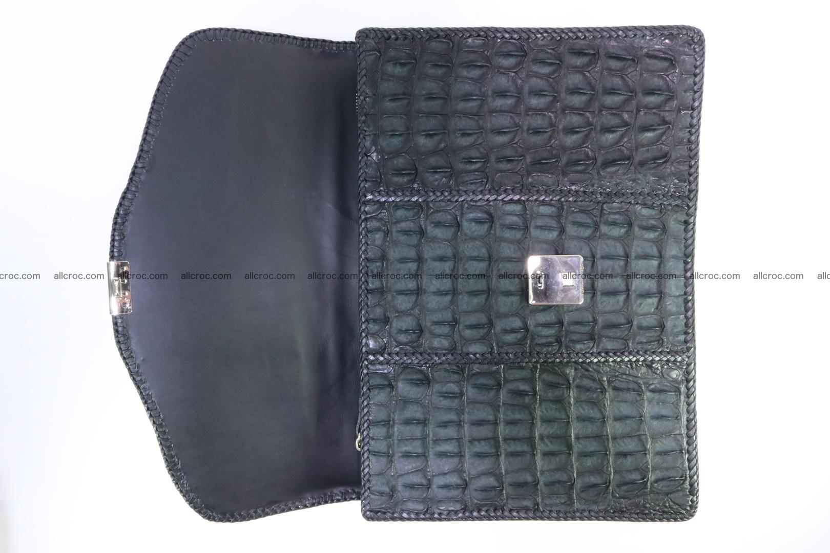 Hand braided crocodile skin briefcase 150 Foto 10