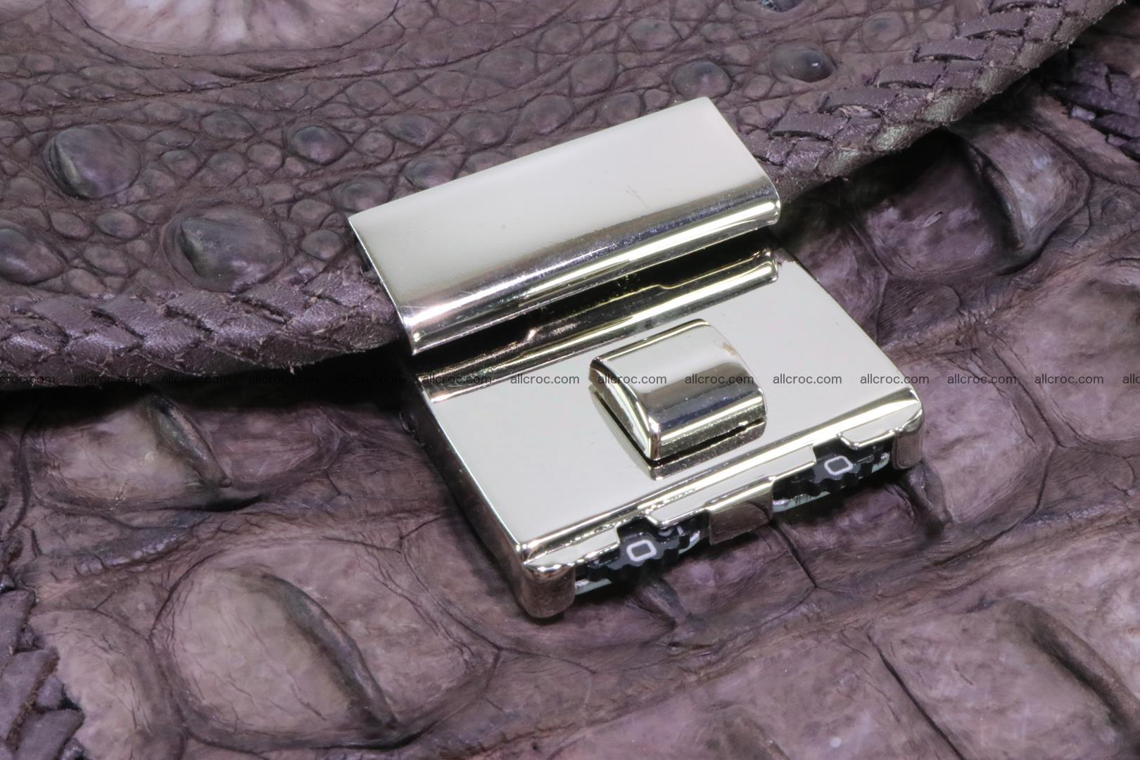 Hand braided crocodile skin briefcase 149 Foto 7