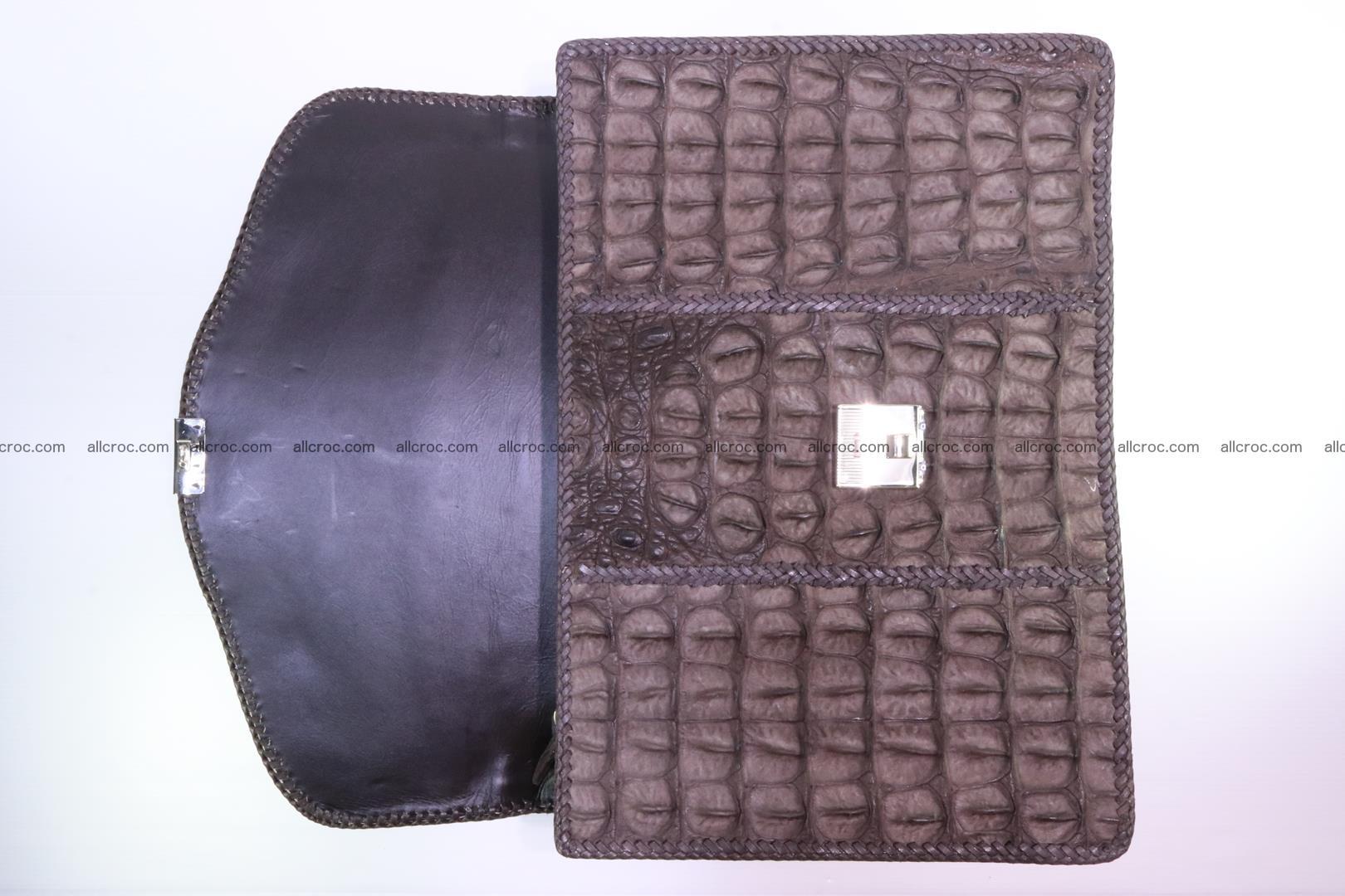 Hand braided crocodile skin briefcase 149 Foto 9