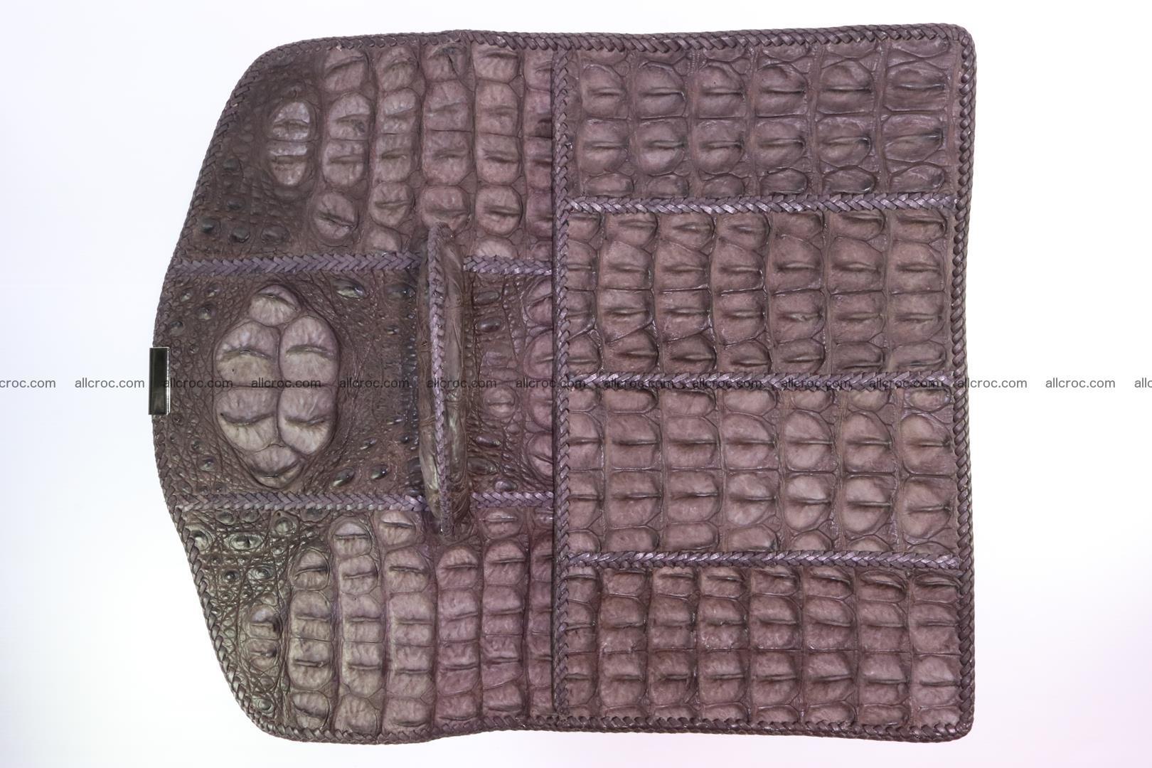 Hand braided crocodile skin briefcase 149 Foto 12