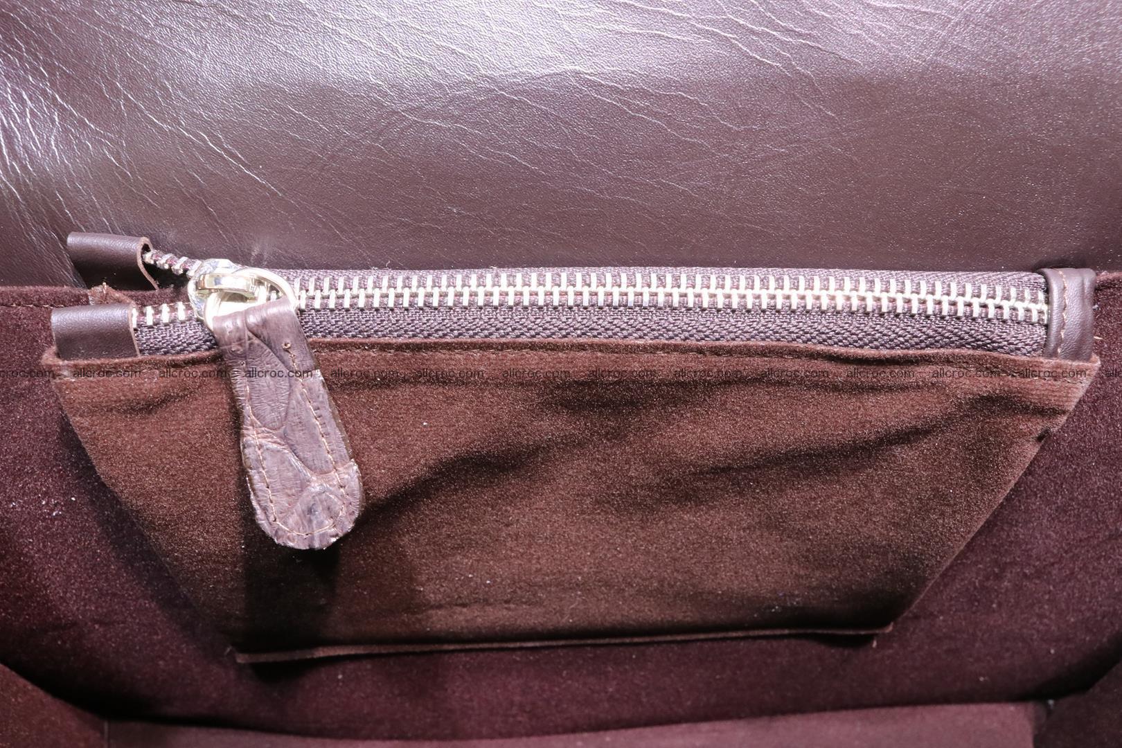 Hand braided crocodile skin briefcase 149 Foto 18