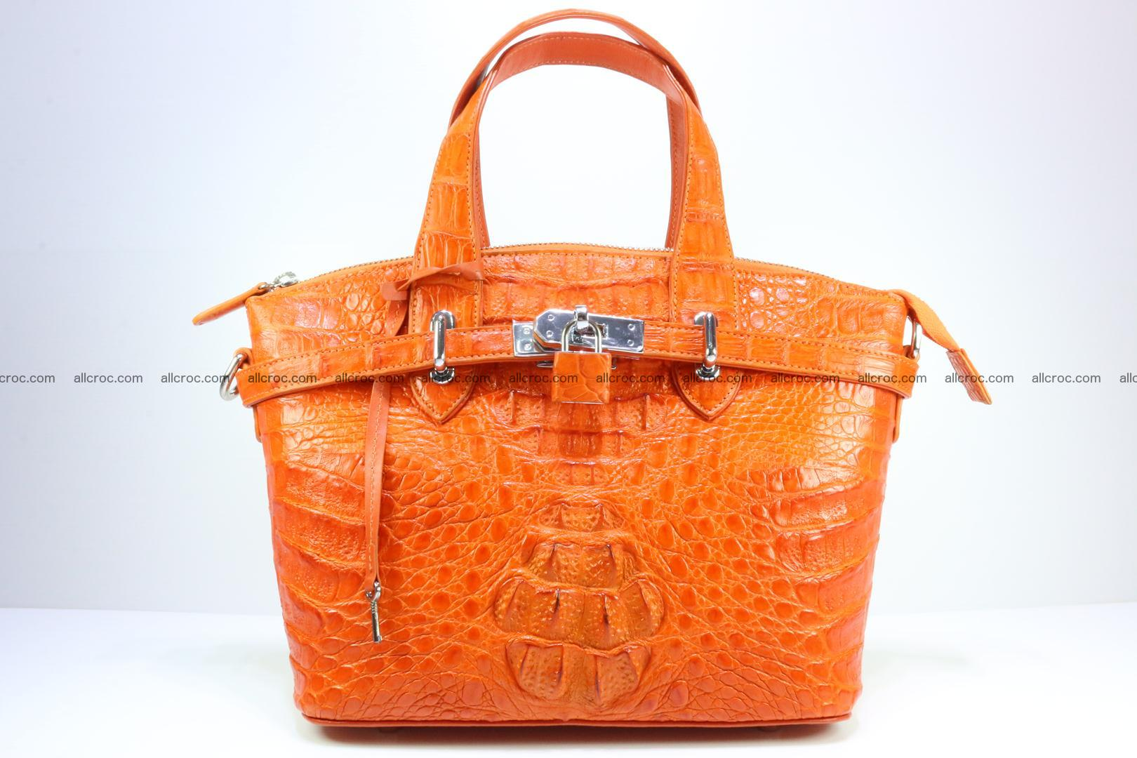 Genuine crocodile handbag for ladies 043 Foto 0