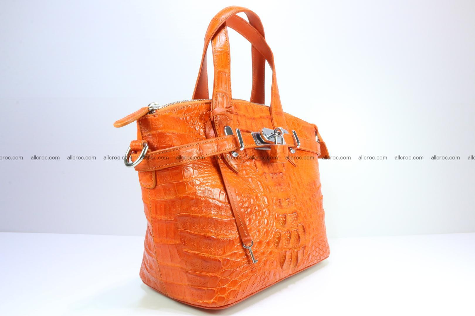 Genuine crocodile handbag for ladies 043 Foto 1