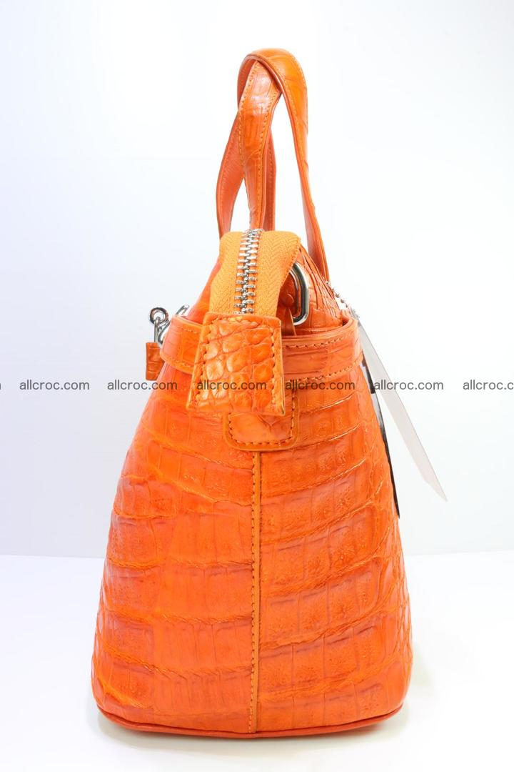 Genuine crocodile handbag for ladies 043 Foto 6