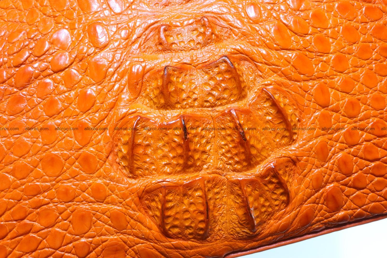 Genuine crocodile handbag for ladies 043 Foto 10