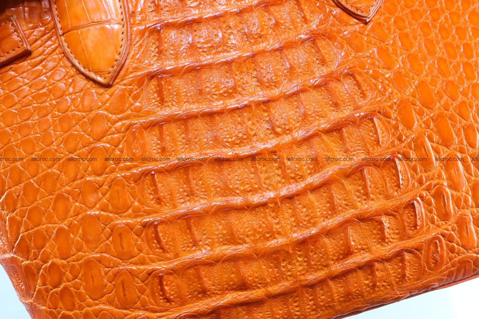 Genuine crocodile handbag for ladies 043 Foto 12