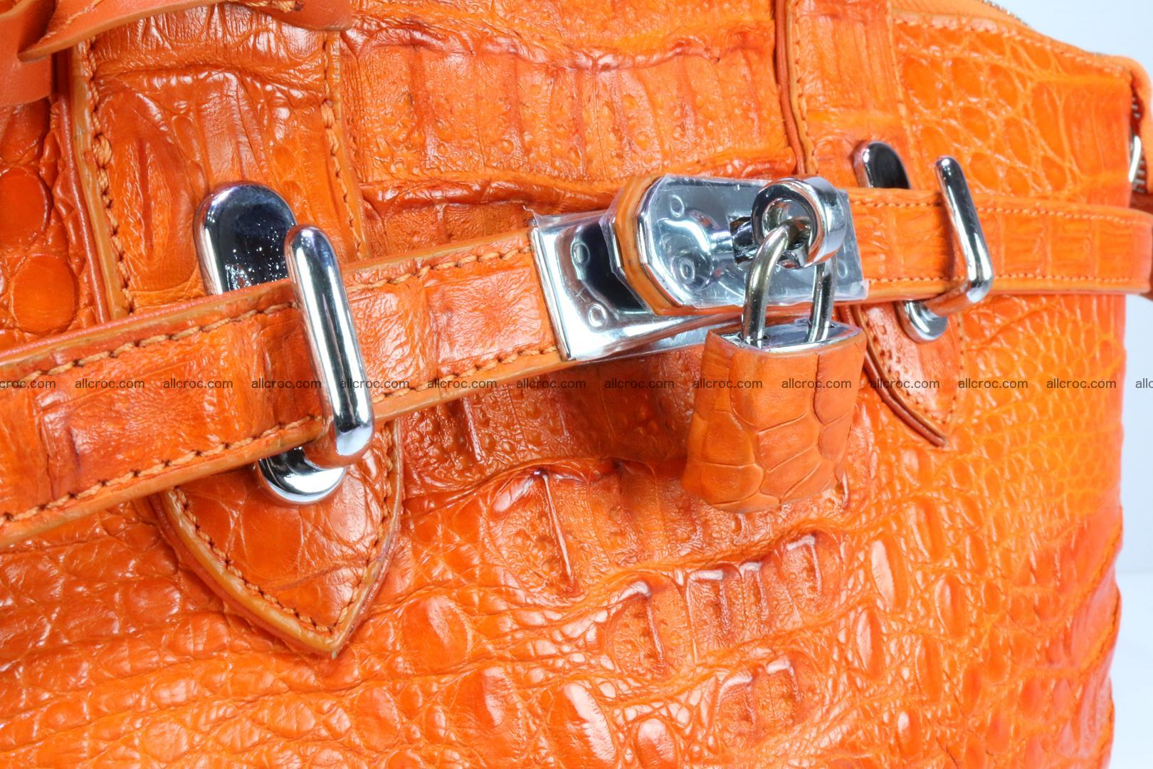 Genuine crocodile handbag for ladies 043 Foto 11