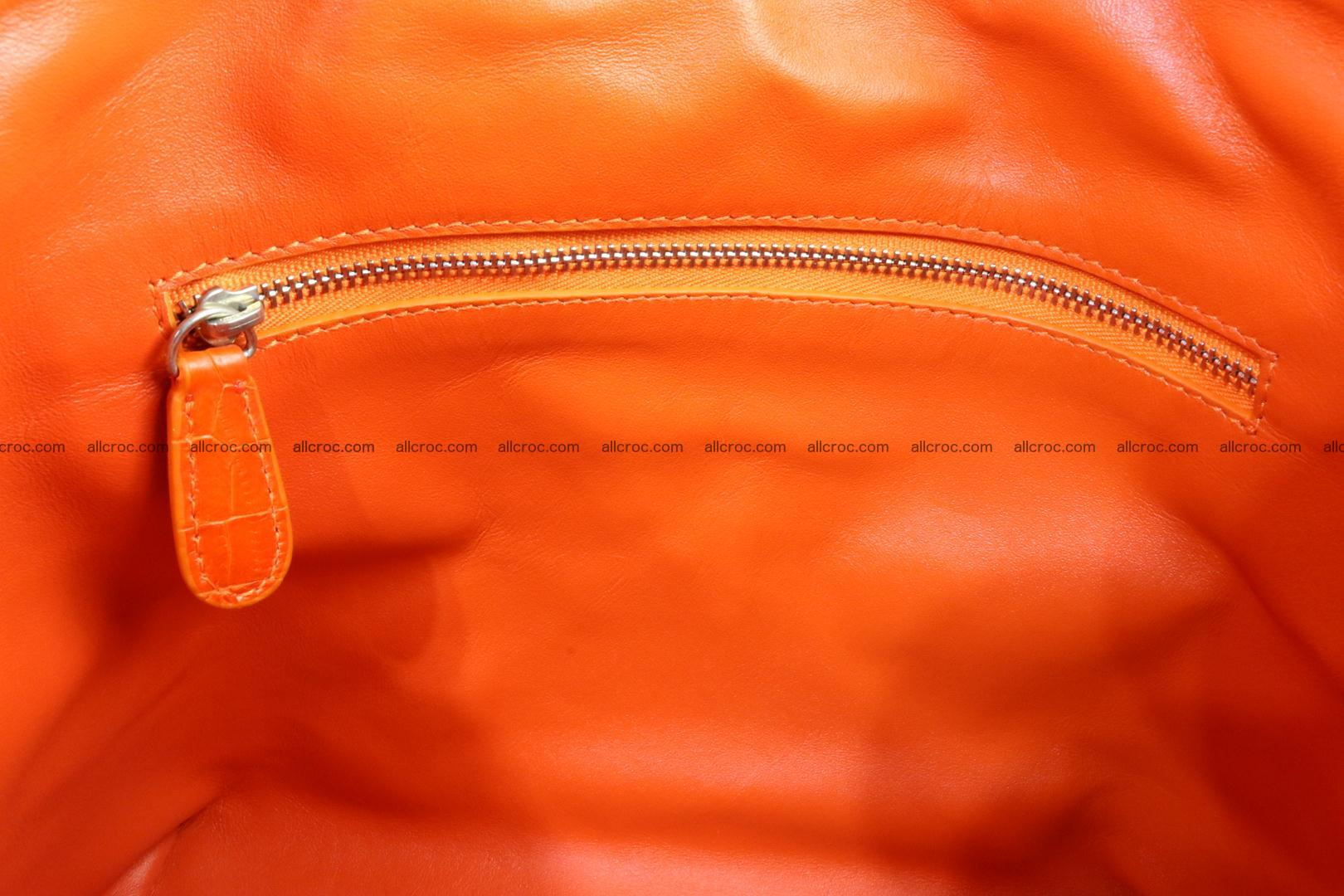 Genuine crocodile handbag for ladies 043 Foto 14
