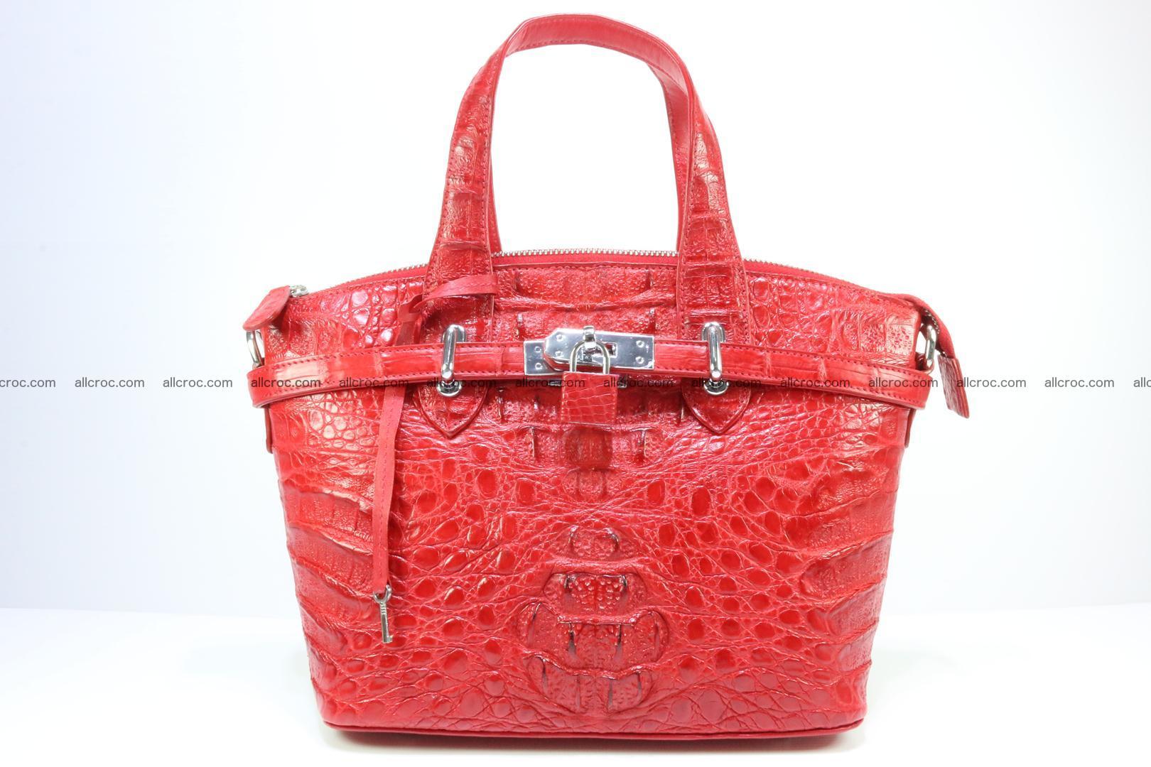 Genuine crocodile handbag for ladies 044 Foto 0