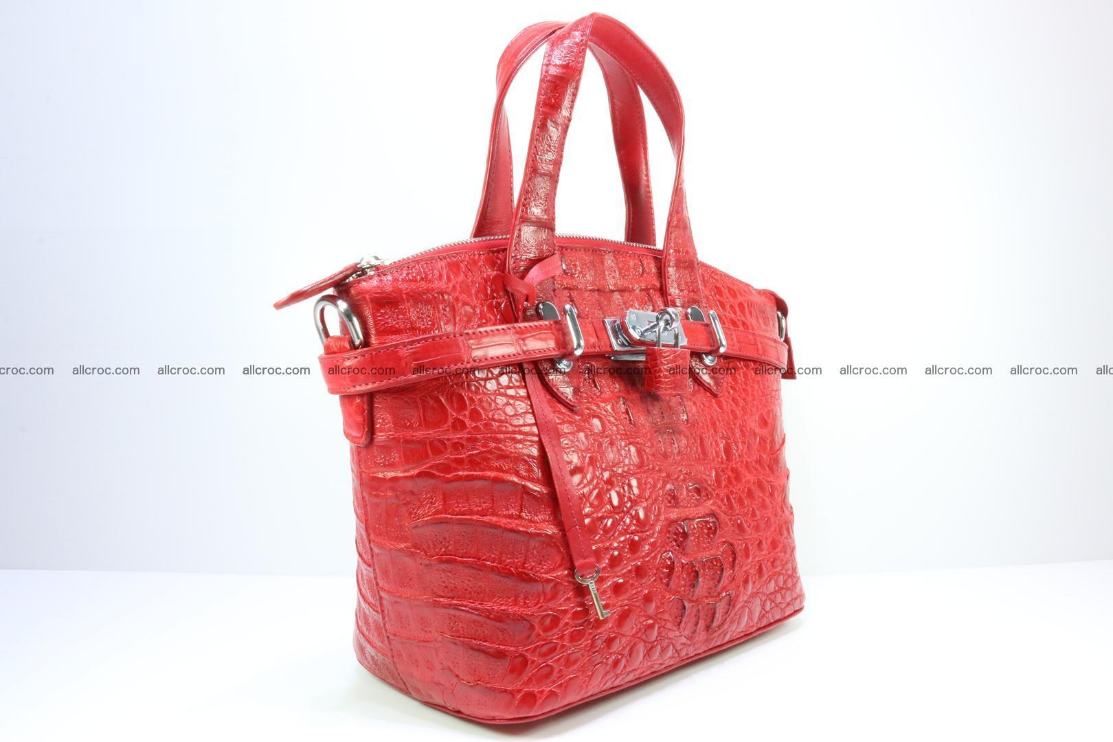 Genuine crocodile handbag for ladies 044 Foto 1