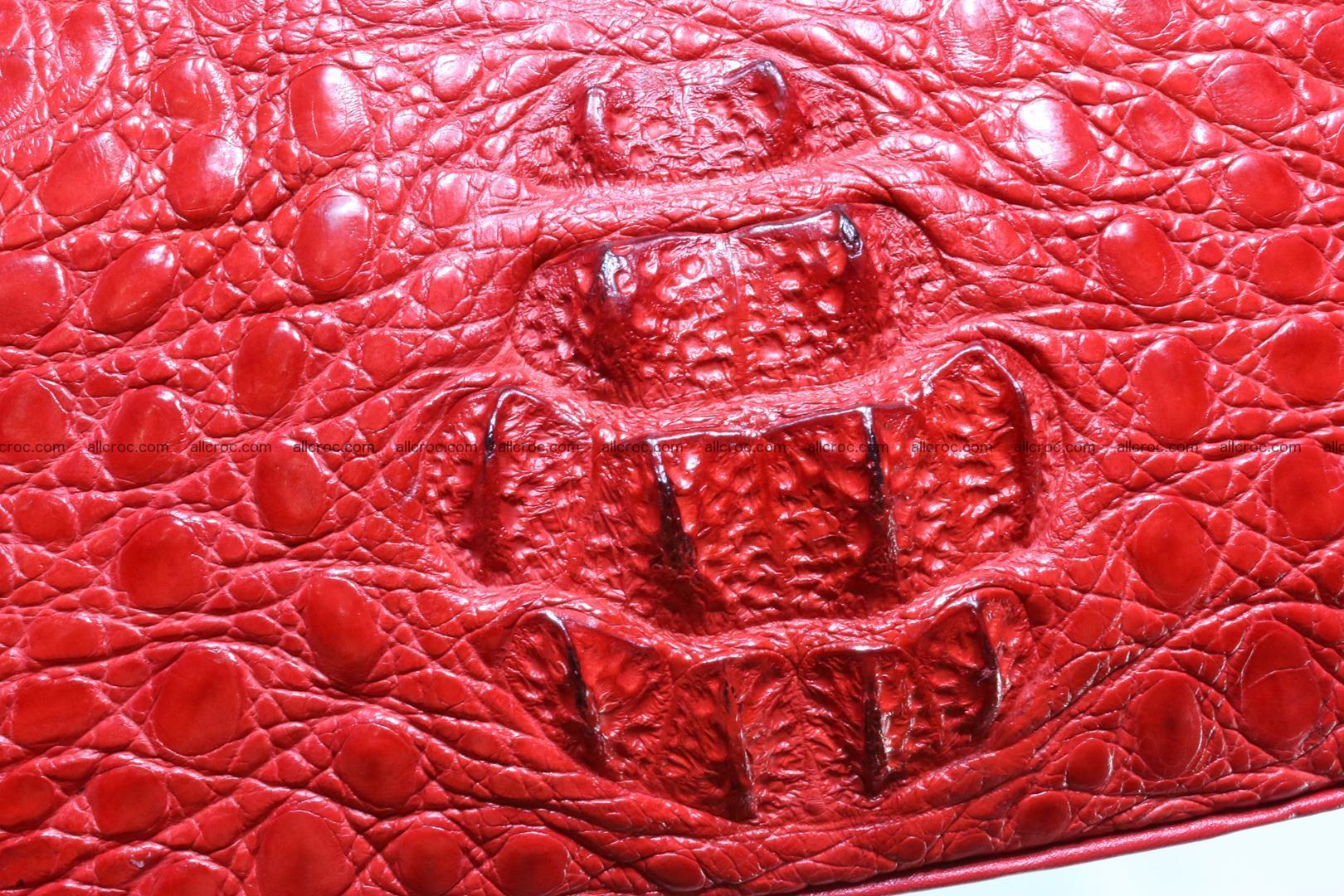 Genuine crocodile handbag for ladies 044 Foto 7