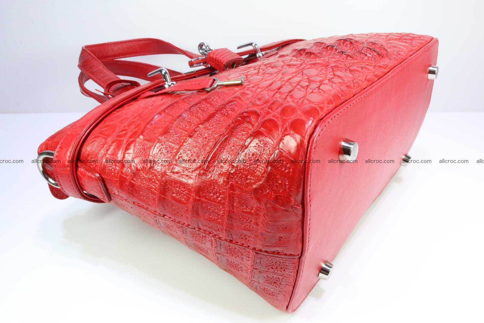 Genuine crocodile handbag for ladies 044 Foto 10
