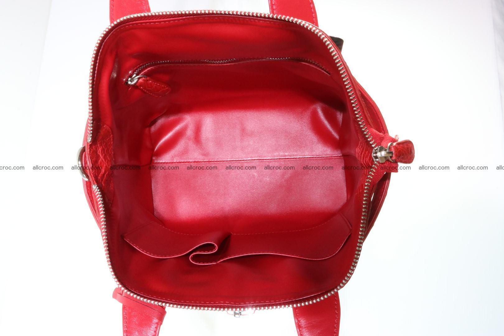 Genuine crocodile handbag for ladies 044 Foto 13