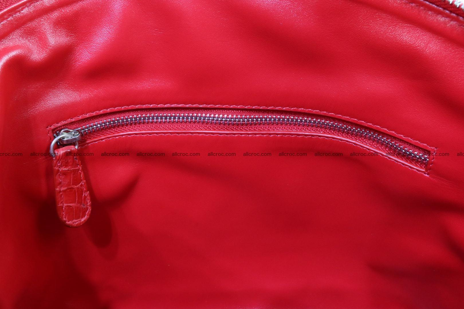 Genuine crocodile handbag for ladies 044 Foto 14