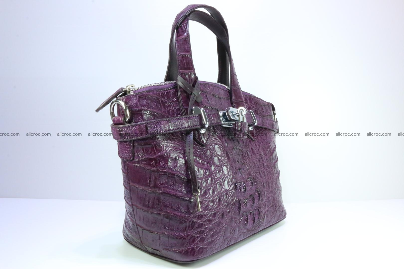 Genuine crocodile handbag for ladies 045 Foto 0