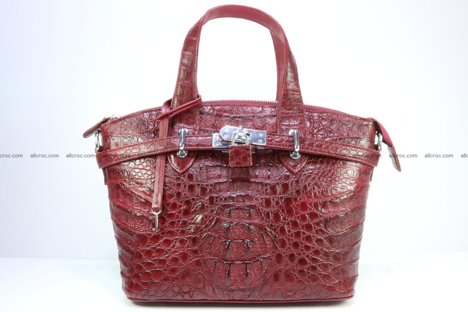 Genuine crocodile handbag for ladies 046 Foto 0
