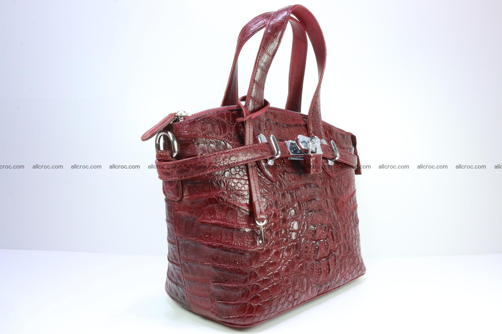 Genuine crocodile handbag for ladies 046 Foto 1
