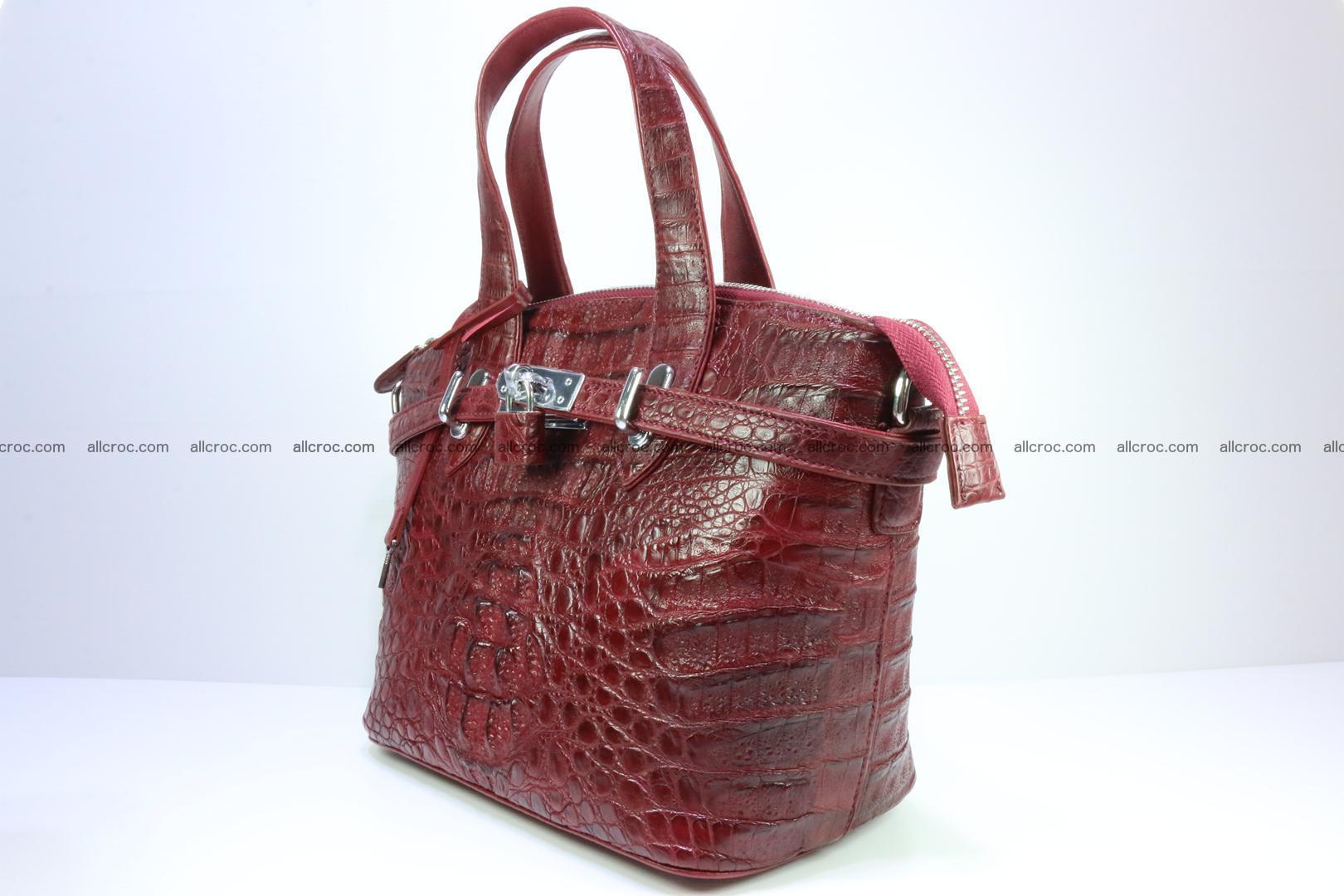 Genuine crocodile handbag for ladies 046 Foto 2