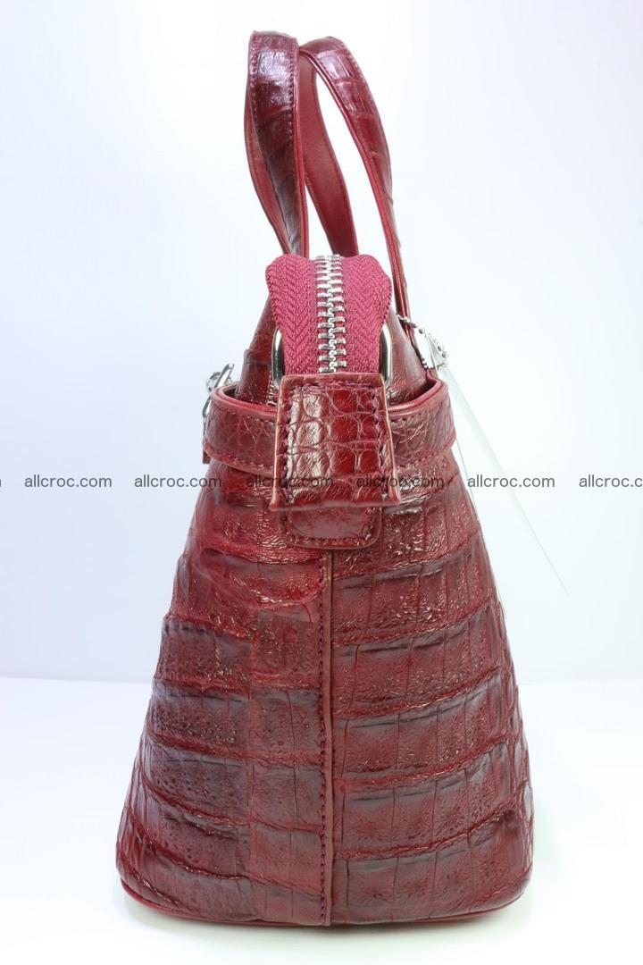 Genuine crocodile handbag for ladies 046 Foto 3