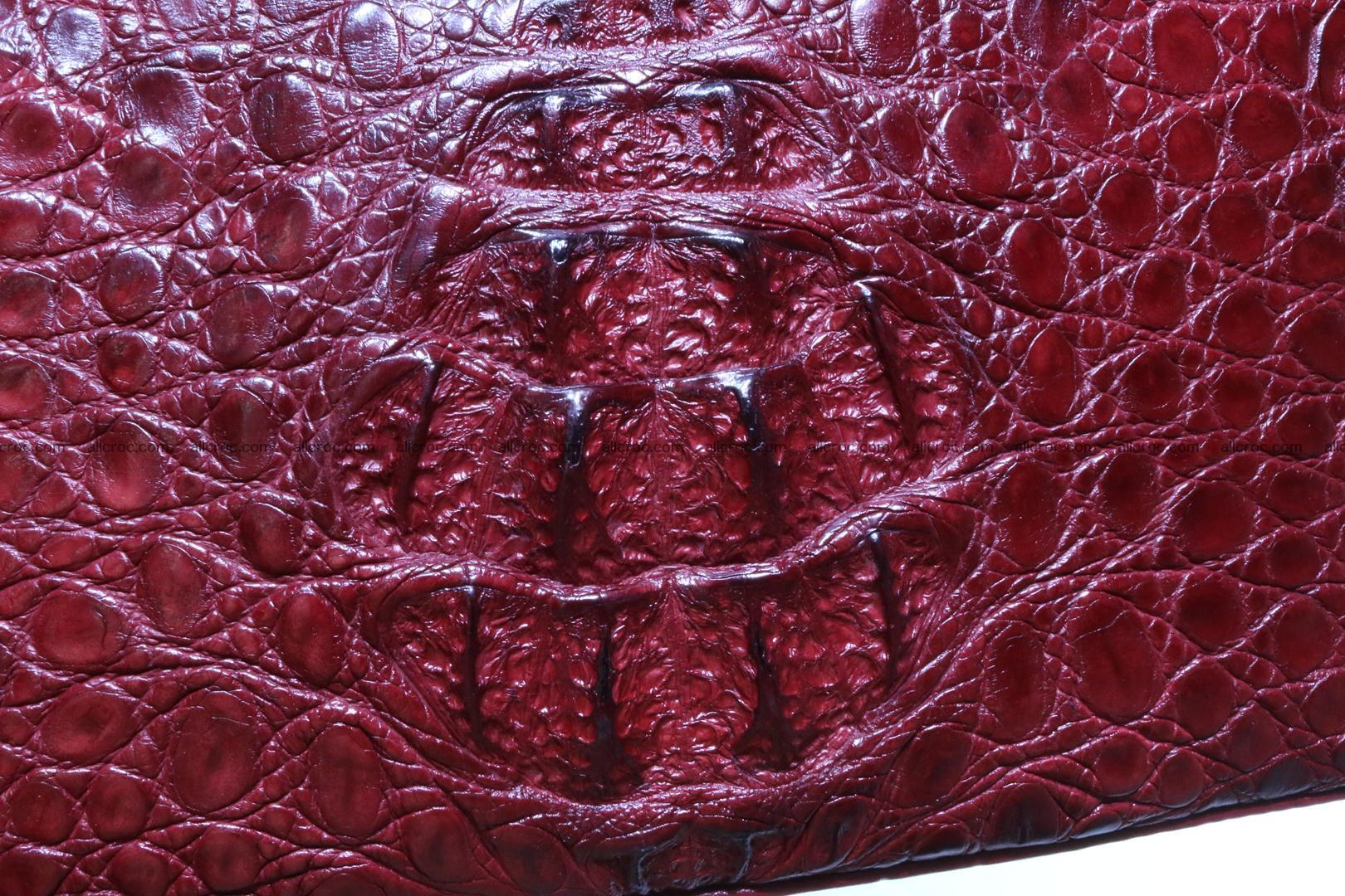 Genuine crocodile handbag for ladies 046 Foto 4