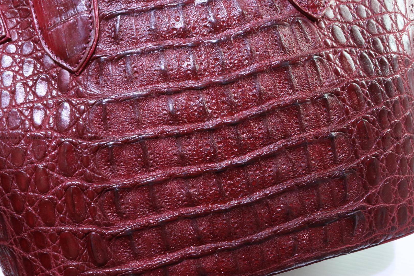 Genuine crocodile handbag for ladies 046 Foto 6