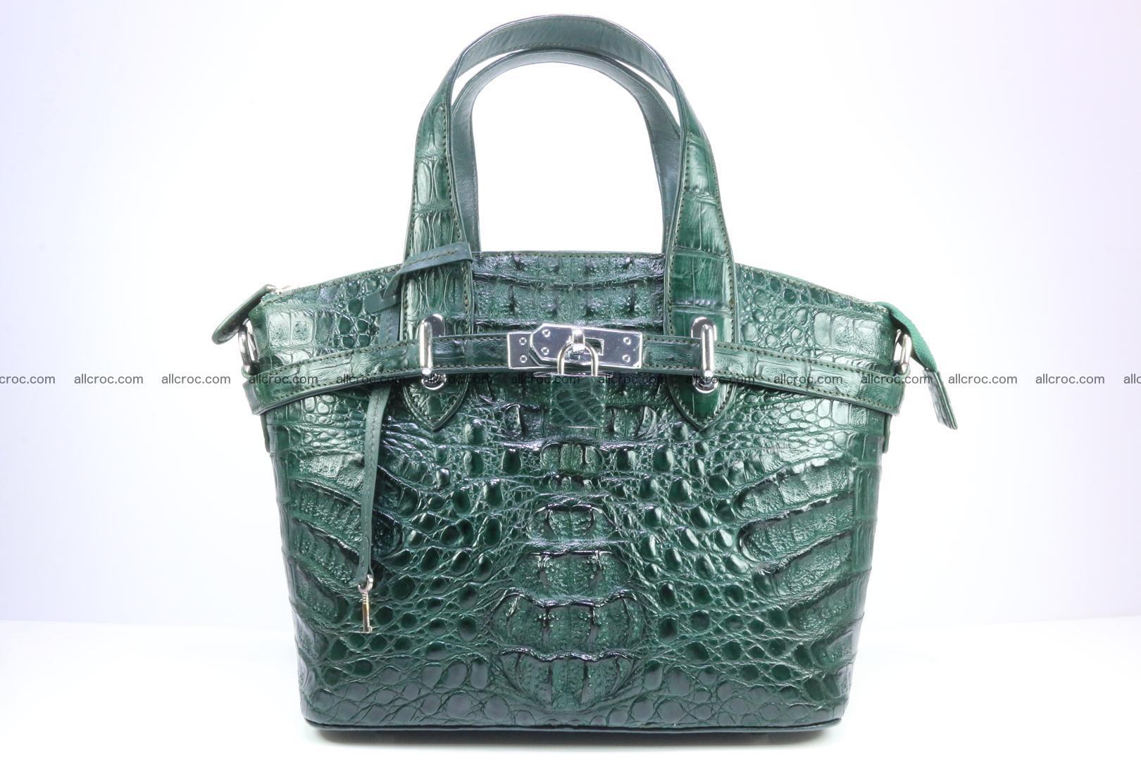 Genuine crocodile handbag for ladies 047 Foto 0