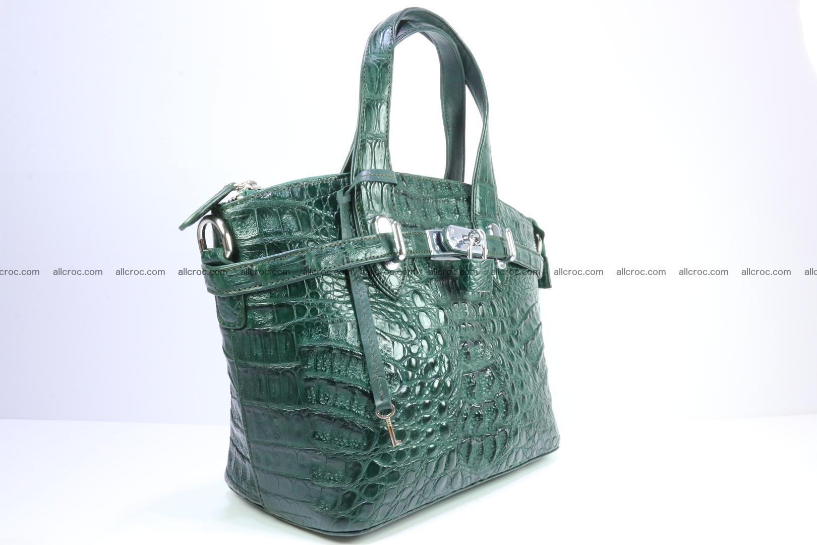 Genuine crocodile handbag for ladies 047 Foto 1