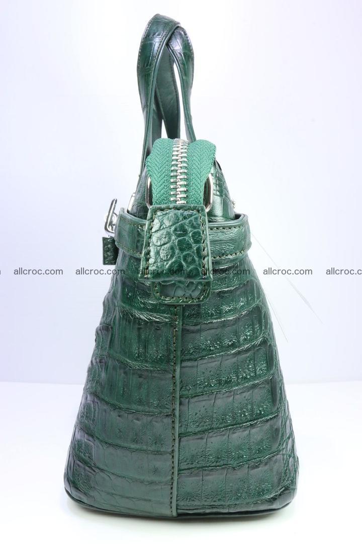 Genuine crocodile handbag for ladies 047 Foto 3