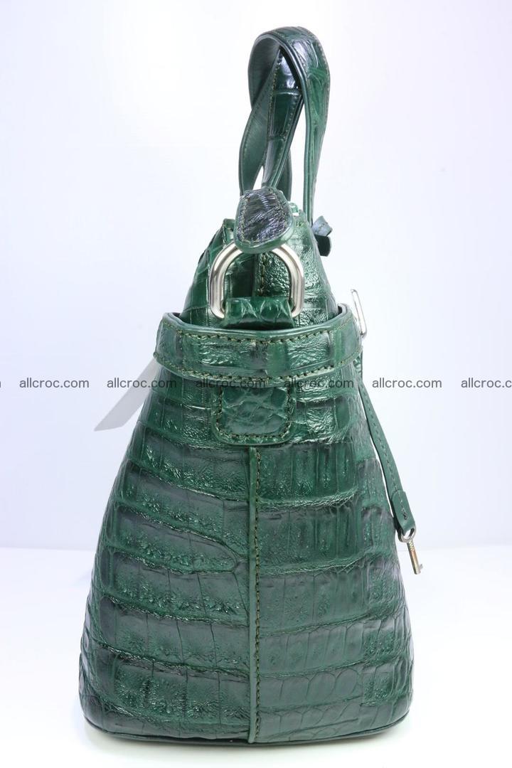 Genuine crocodile handbag for ladies 047 Foto 4