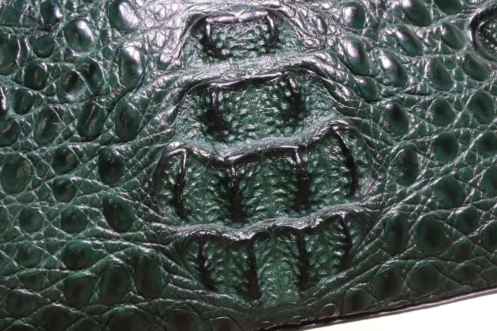 Genuine crocodile handbag for ladies 047 Foto 6
