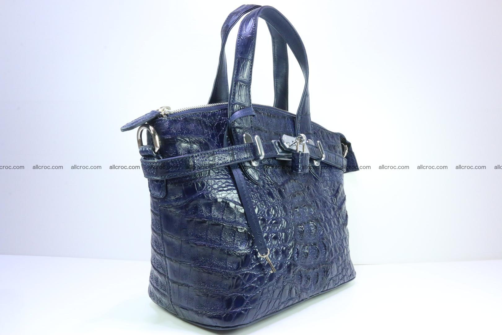 Genuine crocodile handbag for ladies 048 Foto 1