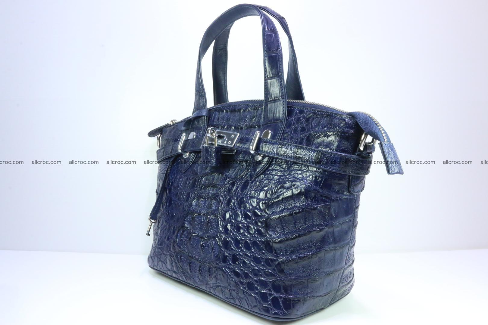 Genuine crocodile handbag for ladies 048 Foto 3