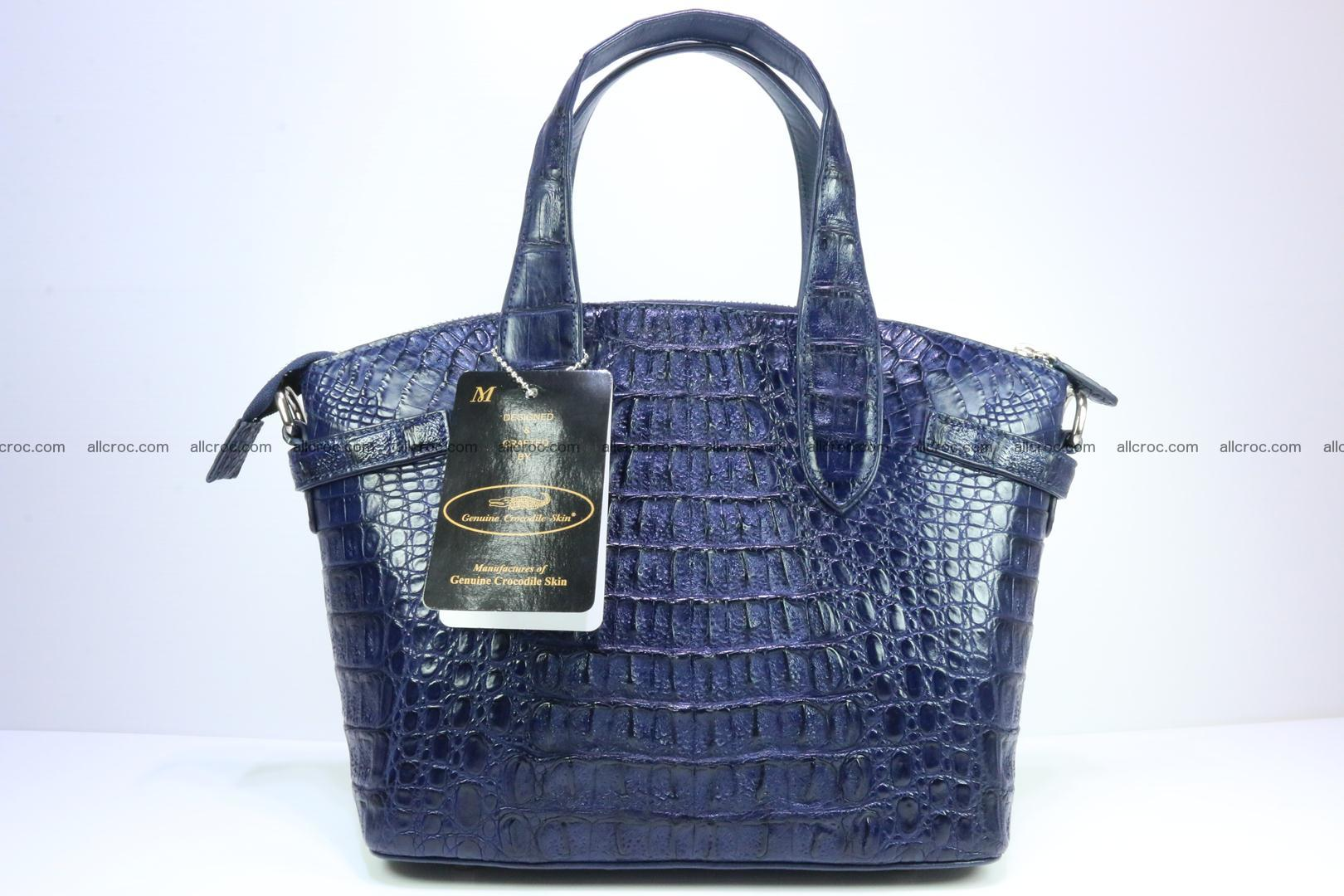 Genuine crocodile handbag for ladies 048 Foto 5