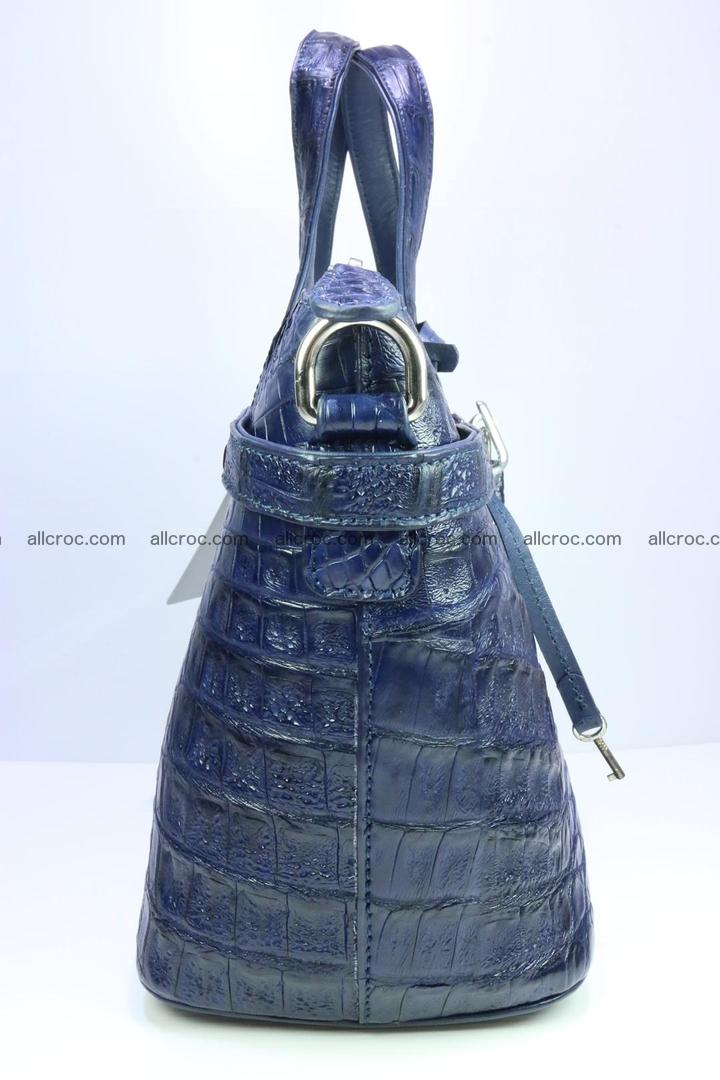 Genuine crocodile handbag for ladies 048 Foto 4